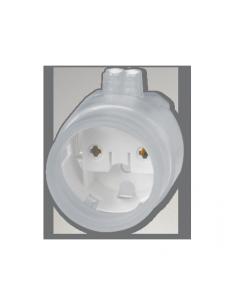 Фото Патрон влагозащищенный накидной G13 для ламп Т8