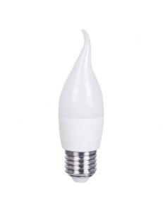 Фото Светодиодная лампа Feron LB-737 6W E27 4000K (свеча на ветру)