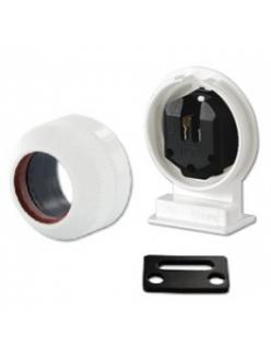 Патрон вологозахищений для люмінесцентних ламп Т8 (в зборі)
