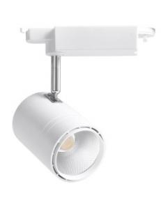 Фото Трековый светильник Feron AL104 50W белый