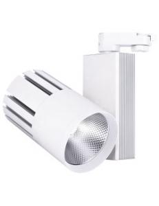 Фото Трековый светильник Feron AL105 40W белый